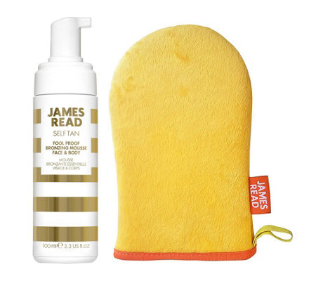 JAMES READ Fool Proof Bronzing Mousse Face & Body inkl. Applikator 100ml