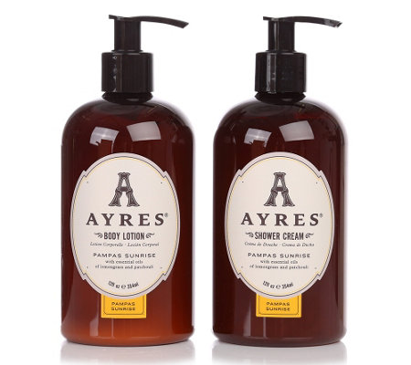 AYRES PAMPAS SUNRISE Shower Cream & Body Lotion je 354ml