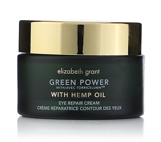ELIZABETH GRANT Green Power & Hemp Oil Augencreme 30ml