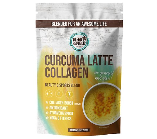 BLEND REPUBLIC Curcuma Latte mit Collagen 30 Portionen 300g
