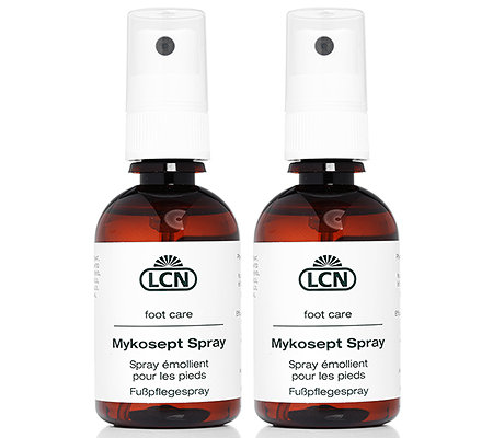LCN Pediküre Mykosept Spray Duo Fußpflegespray 2x 50ml