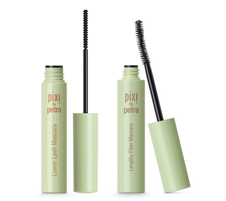 PIXI BEAUTY Mascara mit Lengthy Fibre & Lower Lash Mascara, 2tlg.