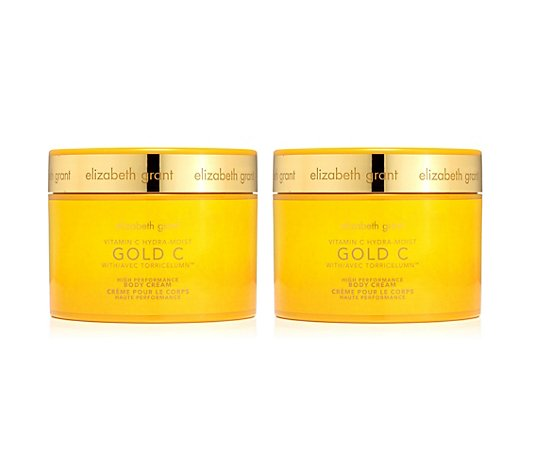 ELIZABETH GRANT Golden C Body Cream 2x 400ml
