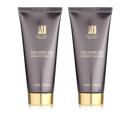 BEATE JOHNEN SKINLIKE Collagen 360° Ultimate Skin Lift Hand Cream 2x 100ml