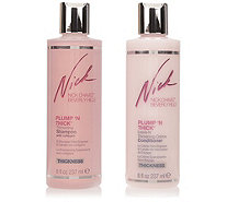 NICK CHAVEZ Volumen Shampoo & Conditioner Duo mit Collagen für dickeres Haar je237ml - 293046