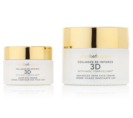 ELIZABETH GRANT Collagen Re-Inforce 3D-Lift Face Cream 100ml & Eye Cream 30ml