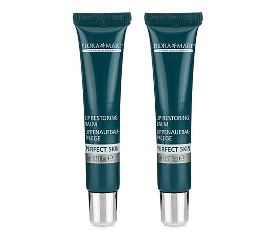 FLORA MARE™ Perfect Skin Restoring Lip Balm Duo 2x15ml