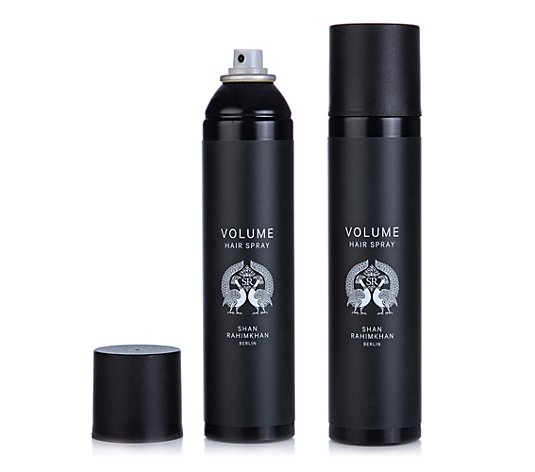 SHAN RAHIMKHAN Volume Hair Spray Strong Hold Aerosol 2x 300ml
