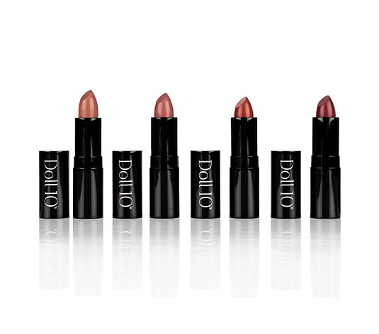 DOLL 10 BEAUTY Hydragel Lippenstift Set Model Quad 4x 3,3g