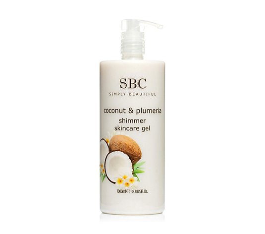 SBC Kokosnuss & Plumeria Skincare Gel 1.000ml