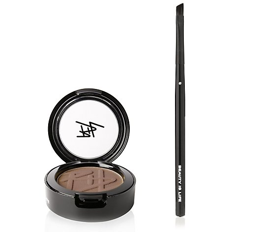 BEAUTY IS LIFE 2in1-Lidschatten & Augenbrauenpuder 3,5g mit Pinsel