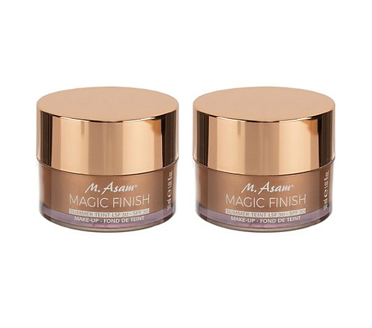 M.ASAM® Magic Finish Summer Teint mit LSF 30 Duo je 30ml