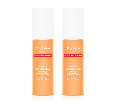 M.ASAM® Pure Vitamins Kontur Augencreme 2x 30ml