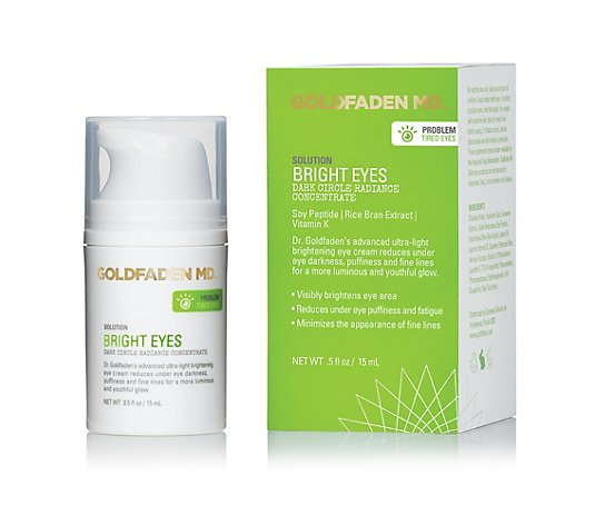 GOLDFADEN MD™ Bright Eyes Dark Circle Radiance Concentrate 15ml