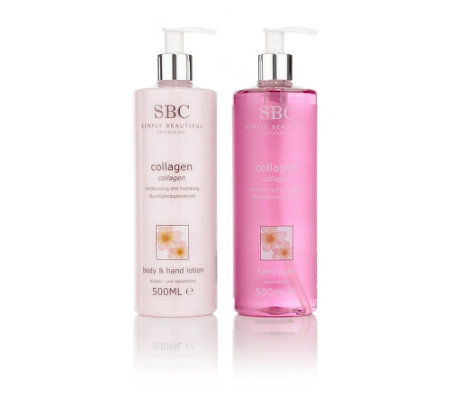 SBC Collagen Hand & Body Lotion Handseife je 500ml