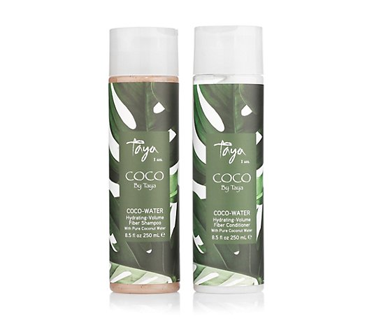 TAYA HAIRCARE Coco Water Shampoo & Conditioner 2x 250ml