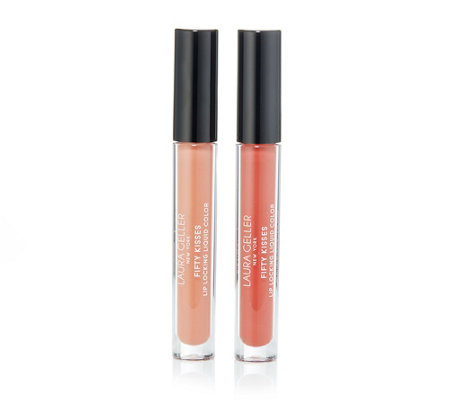 LAURA GELLER Fifty Kisses Color-Duo Flüssiglippenstift je 3ml