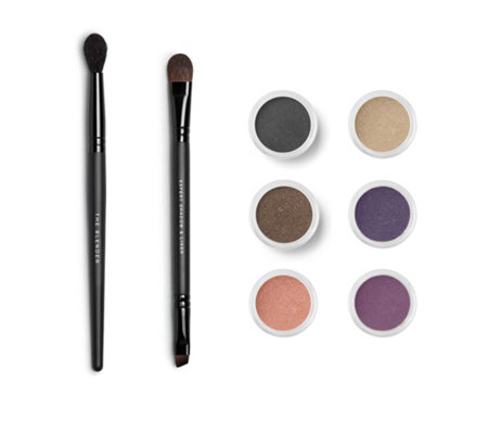bareMinerals® Mineral Story Delicate & Daring Lidschatten-Set inkl. 2x Pinsel