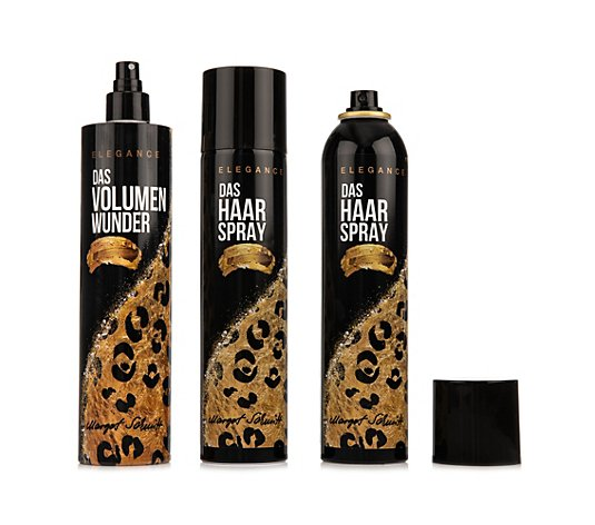 MARGOT SCHMITT® Elegance Volumenwunder 400ml Haarspray 2x 300ml