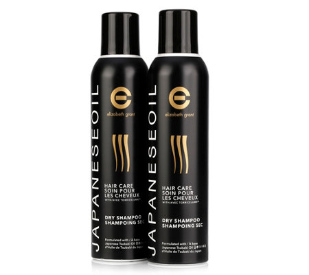 ELIZABETH GRANT JAPANESE OIL HAIRCARE Trockenshampoo-Duo je 250ml