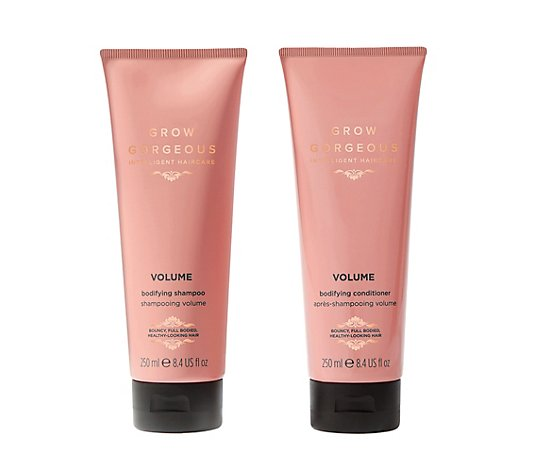 GROW GORGEOUS Volume Shampoo & Conditioner 2x 250ml