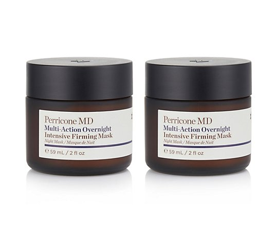 DR. PERRICONE Multi-Action Overnight Intensive Firming Mask, 2x 59ml