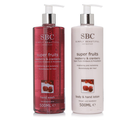 SBC SUPERFRUITS Handseife mit Hand- & Bodylotion