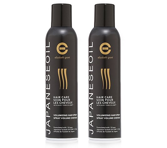 ELIZABETH GRANT Japanese Oil Haircare Volumen Haarspray 2x 250ml