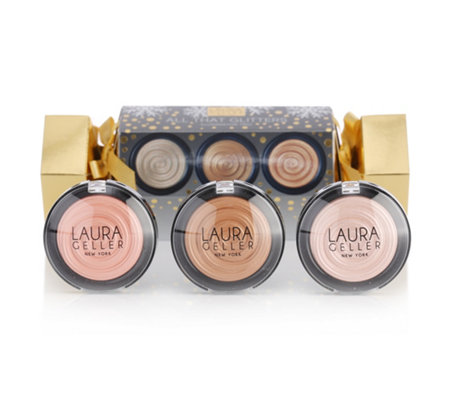 LAURA GELLER All That Glitters Puderhighlighter 3x 4,5g