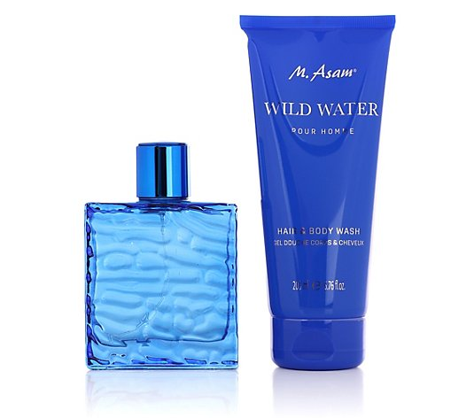 M.ASAM® Wild Water für Herren Hair & Body Wash & Eau de Parfum