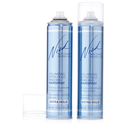 NICK CHAVEZ Volumizing Extra Hold Haarspray 2x 330ml