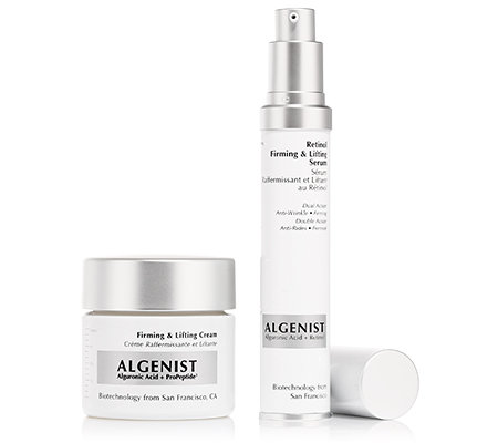 ALGENIST Firming & Lifting Cream 60ml & Retinol Serum 30ml Set, 2tlg.