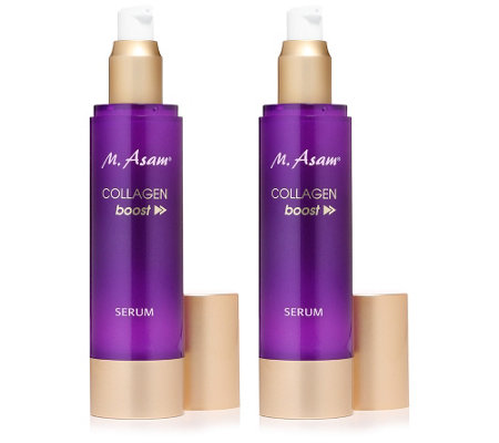 M.ASAM® COLLAGEN BOOST Serum 2x 100ml