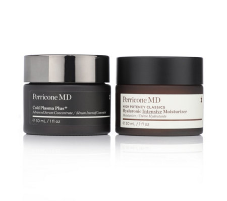 DR. PERRICONE Cold Plasma Plus+ Face & High Potency Classics Hyaluronic Moisturizer, 2tlg.