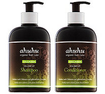 ahuhu organic hair care Volumenshampoo Volumenconditioner je 500ml - 291172
