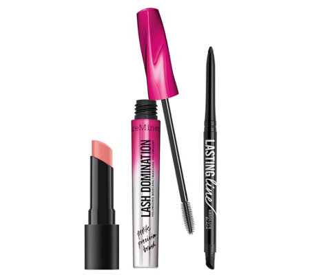 bareMinerals® The Glam Squad Augen- & Lippen- Set, 3tlg.