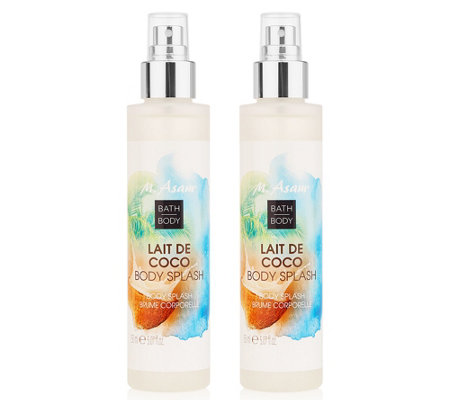 M.ASAM® LAIT DE COCO Body Splash-Duo je 150ml