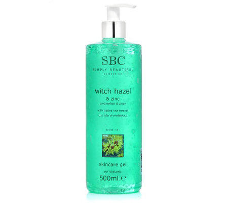 SBC ZAUBERNUSS & ZINK Skincare Gel 500ml