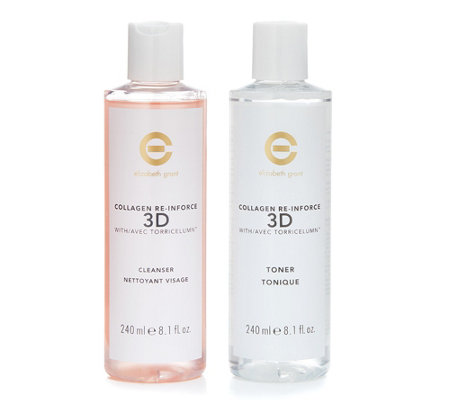 ELIZABETH GRANT Collagen 3D-Lift Cleanser & Toner 2x 240ml
