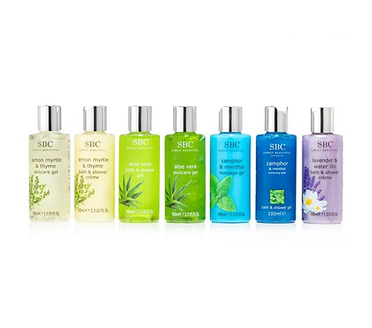 SBC Mini Reise Sommerkollektion 7x 100ml