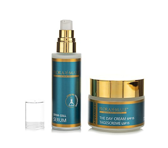 FLORA MARE™ Advanced The Day Cream 100ml & Stem Cell Serum 50ml