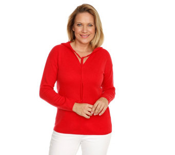 dcfea4f9f94743 THOM by Thomas Rath Pullover Hoody-Style 100% Kaschmir - 205377