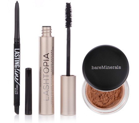 bareMinerals® Augen-Make-up-Set mit Lashtopia Mascara 3tlg.