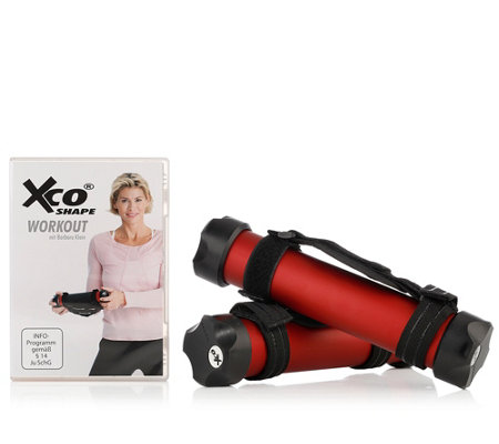FLEXI-SPORTS XCO-Trainer für ein aktives Training mit DVD & Trainingsplan