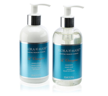 FLORA MARE L´Orangerie Handseife & Handlotion 2x 245ml