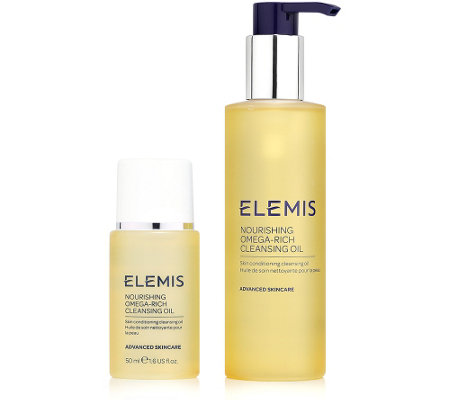 ELEMIS Nourishing Omega-Rich Cleansing Oil 195ml + 50ml