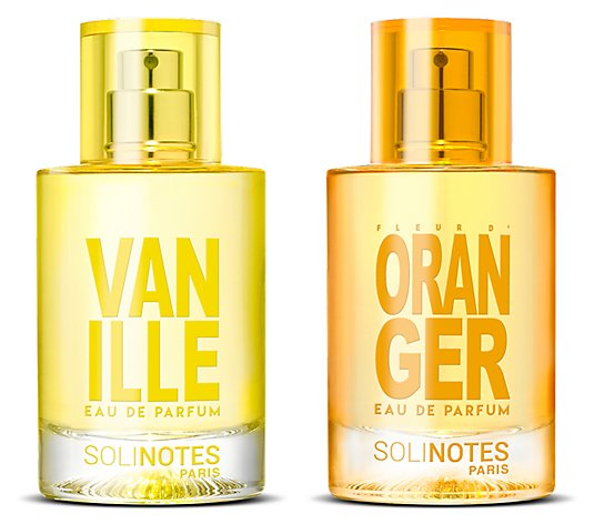 SOLINOTES Mix Poetic Eau de Parfum Vanille & Orange 2x 50ml