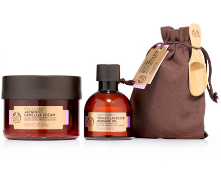 THE BODY SHOP® Spa of the World™ Entspannendes Ritual Körperpflege-Set 3tlg.