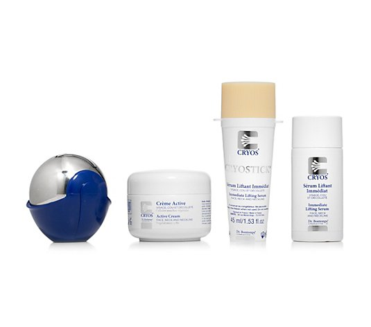 CRYOS® by Dr. Bontemps Anti-Aging-Set Kälteball, Eis-Serum & Aktiv-Creme