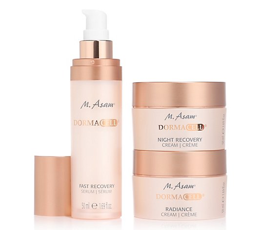 M.ASAM® Dormacell Fast Recovery Serum, Radiance Cream & Night Recovery Cream